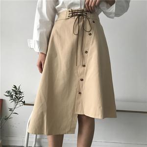 【お取り寄せ商品】asymmetric Aline skirt 5355