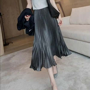 Pleated A-Line Skirt T741