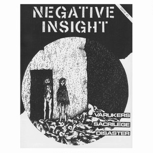 NEGATIV INSIGHT ZINE vol.1  ZINE + 7""
