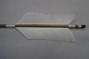流鏑馬 ジュラ 矢(2枚羽・鏑付タイプ)