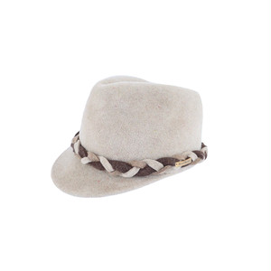 hntbk RRFW1905 fur felt Cap (LIGHT BEIGE)