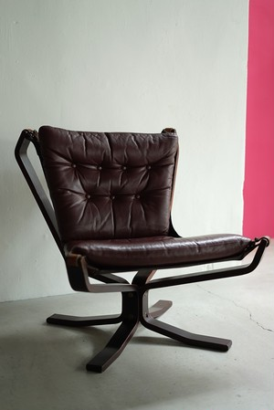 """Sigurd Ressell """"Falcon Chair"""""""