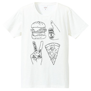 [Tシャツ] I know that if you eat these you get fat