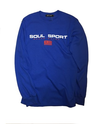 SOUL SPORT  long sleeveT / Royal