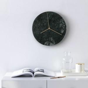 大理石調シンプル掛け時計ML1581