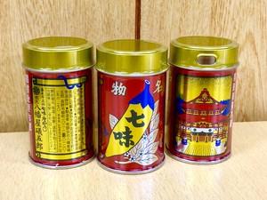 八幡屋礒五郎 七味唐辛子 缶14g