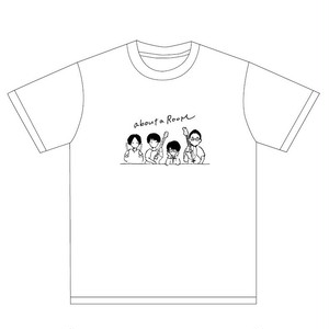 れっつとーくあばうとTシャツ(ホワイト)