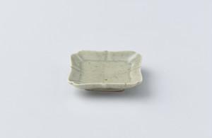 高島大樹 緑滴釉豆皿
