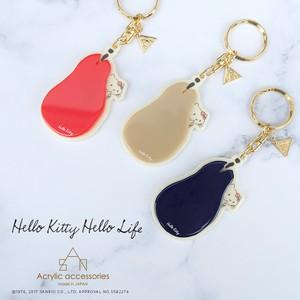 Hello Kitty Hello Life キーホルダー