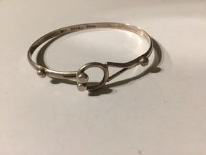 Vintage mexican 925 silver bangle ( ヴィンテージ  シルバー バングル )