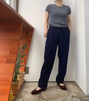 80s AMERICAN EAGLE OUTFITERS wide wale  corduroy pants 【M位】