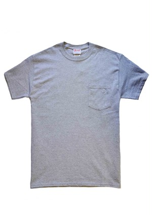 Dairy pocket T-shirts Gray