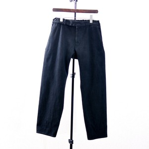 "COLINA Sashiko Curve Slacks Color ""BLACK"""