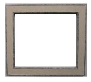 額縁アンティークおしゃれフレーム白24-6610額縁寸法380mm×330mm窓枠寸法366mm×316mm 2mmアクリル/裏板付/壁掛け用