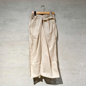 【COSMIC WONDER】Beautiful organic cotton  wrapped skirt/ 11CW16046-2