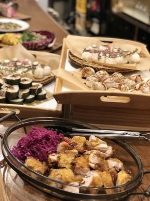 手毬寿司でケータリング