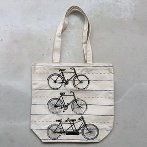 Bicycle Canvas Tote【HomArt】