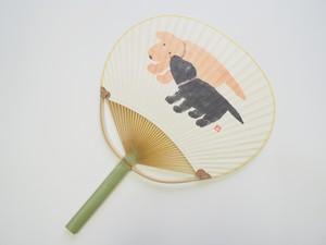丸亀うちわ 子犬(チャリティうちわ)