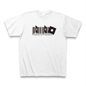 ホワイト クボタタケシ Tシャツ
