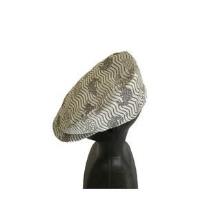 西陣織ハンチング帽HT0027 サイズ M.L