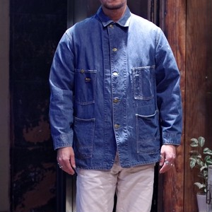 1960-70s OSHKOSH B'GOSH Denim Chore Jacket / オシュコシュ ヴィンテージ  デニム カバーオール
