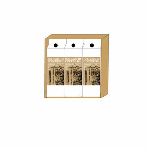 【GIFT】箱3本入アイスリキッドコーヒー