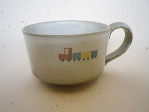 マグカップ(汽車:子供の器)