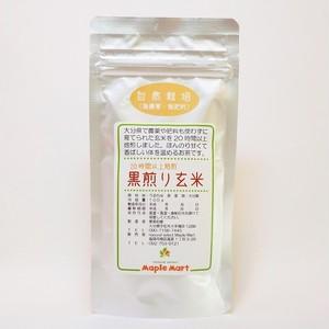 自然栽培・黒煎り玄米(100g)