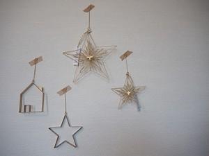 wire ornament star(L)