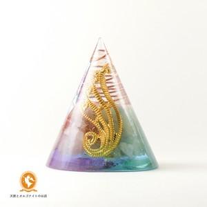 TRINITY 三位一体の円すいオルゴナイト cone1001trinity00001