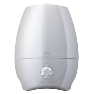 大容量5リットル加湿器 SRD-601WH パールホワイト(siroca)