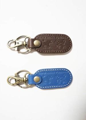 革製キーホルダー Leather key chain