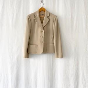 HERMES 80s~vintage stripes 3B jacket ladies