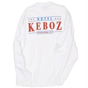 HOTEL KEBOZ L/S Tee White