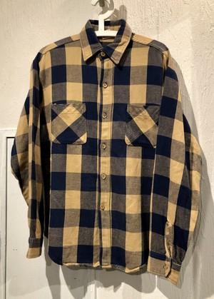 "70's-80's ""BIG MAC""Flannel shirt"