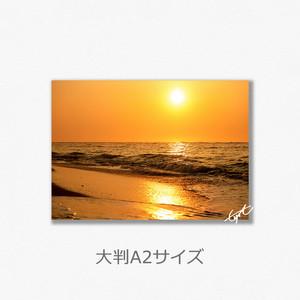 ピザ浜(Gold)(大判A2サイズ)