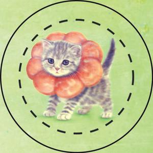 【雑貨】缶バッジ:ポンデニャイオン2 #Antique style