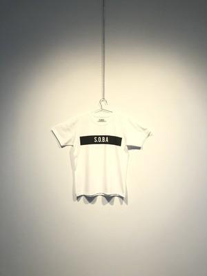 S.O.B.A フロントプリント Tシャツ