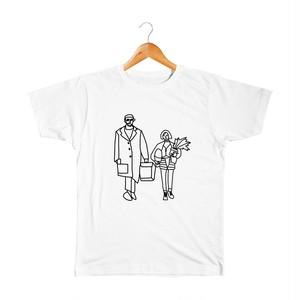 Leone & Mathilda #2 キッズTシャツ