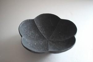 額賀円也|鉄釉梅鉢 小
