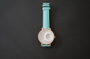 腕時計 sun&moon ターコイズ