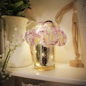 thank you carnation LED light / カーネーション フラワー ルームライト テーブルランプ 花 照明 韓国 雑貨