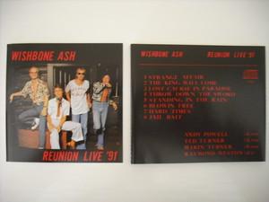 【CD】WISHBONE ASH / REUNION LIVE '91
