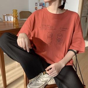 【トップス】韓国系カートゥーンプリント半袖Tシャツ26931916