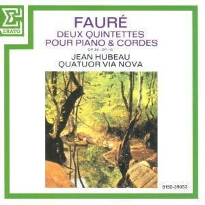 [中古CD] フォーレ:ピアノ五重奏曲第1番/第2番 ユボー&ヴィア・ノヴァ四重奏団