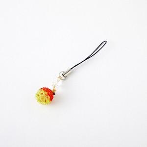 津軽リンゴのストラップ