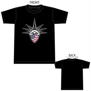 USA リバティ 自由の女神 国旗 星条旗 B4° ビヨンド Tシャツ TEE 半袖 半袖Tシャツ プリントスター 5.6OZ ヘビーウェイト 1603