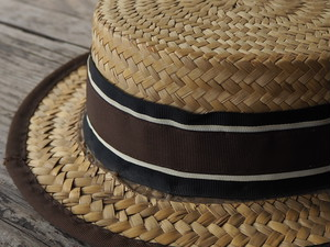 1900'shand-made hat