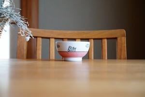 砥部焼/こども茶碗/赤/すこし屋