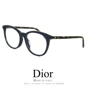 Dior レディース メガネ montaigne41f cf2 眼鏡 アジアンフィット ディオール Christian Dior クリスチャンディオール ボストン型 丸眼鏡